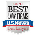 Best Law Firms Sample Badge